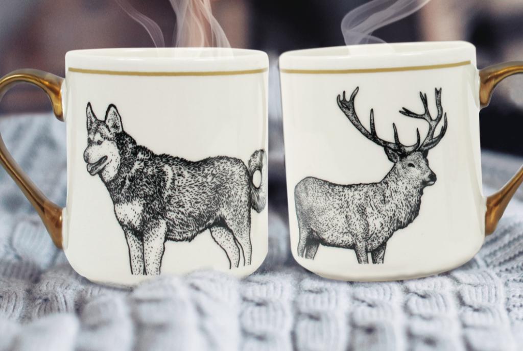 idees cadeaux mug loup