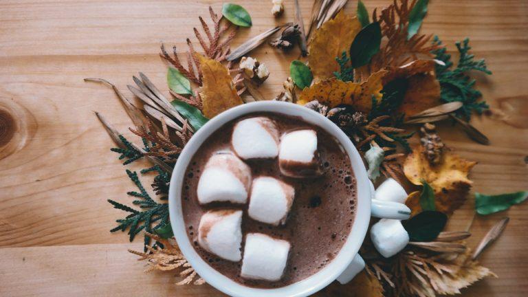 chocolat chaud mug fun noel