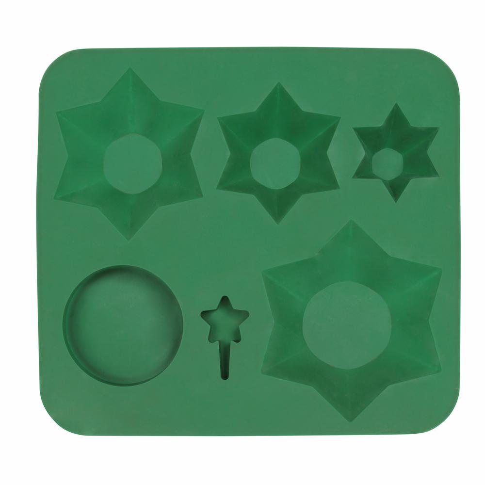 accessoires fete vert moule gateau