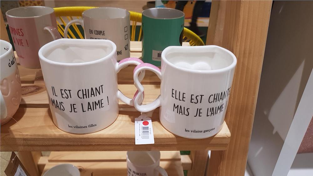mug a message