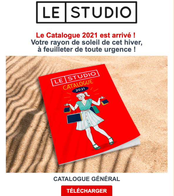 catalogue le studio paris