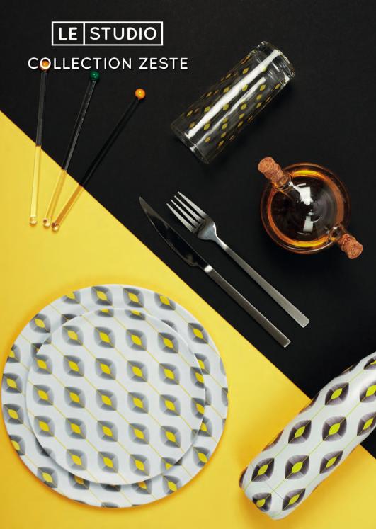 Mettez du zeste sur la table et voyez la vie en jaune !